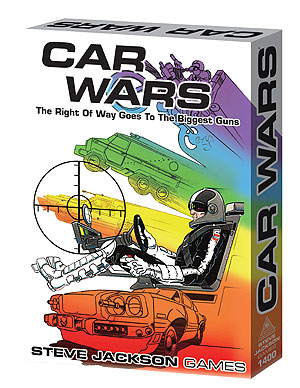 Car Wars Classic Box Front