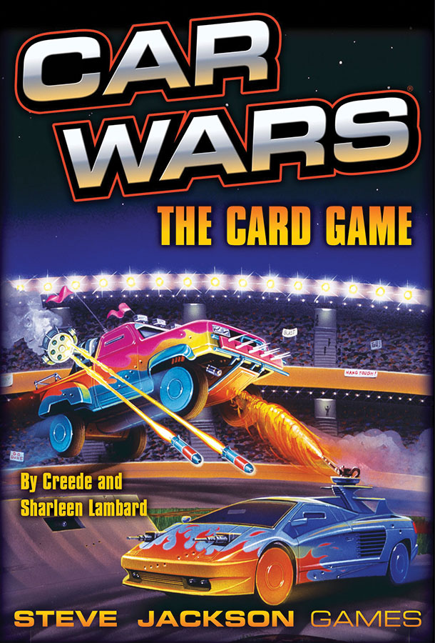 Car Wars: The Card Game Box Front