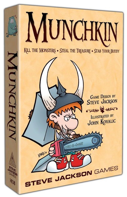 Munchkin Card Game (revised Edition) Box Front