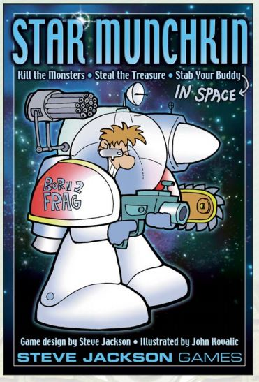 Star Munchkin (revised) Box Front