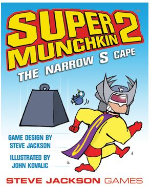Super Munchkin 2: Narrow-s-cape Box Front