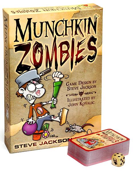 Munchkin Zombies Box Front