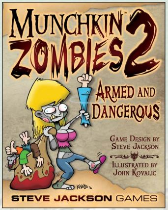 Munchkin Zombies 2: Armed And Dangerous Box Front