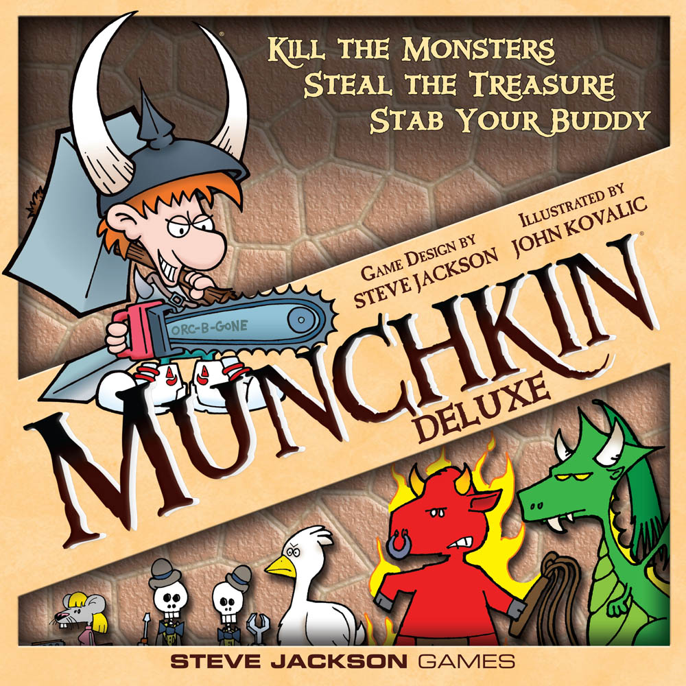 Munchkin Deluxe Box Front