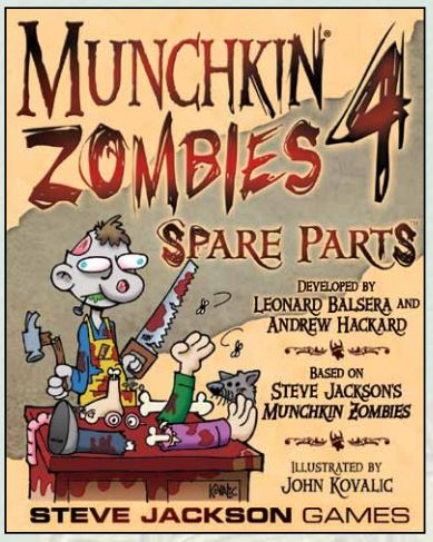 Munchkin Zombies 4: Spare Parts Box Front