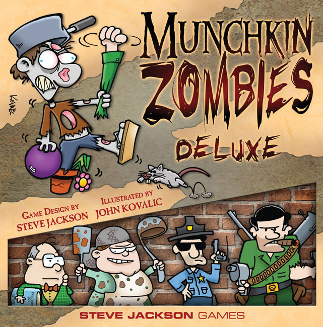 Munchkin Zombies Deluxe Box Front