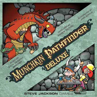 Munchkin Pathfinder: Deluxe Box Front