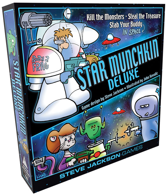 Star Munchkin Deluxe Box Front