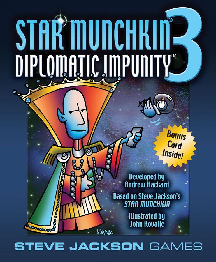 Star Munchkin 3: Diplomatic Impunity Box Front