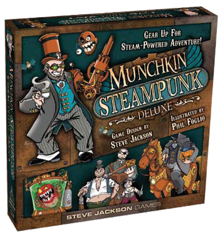Munchkin: Steampunk Deluxe Box Front