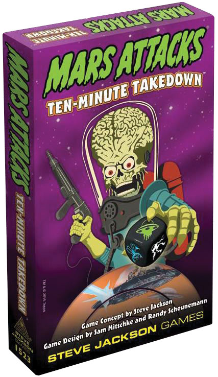 Mars Attacks: Ten-minute Takedown Box Front