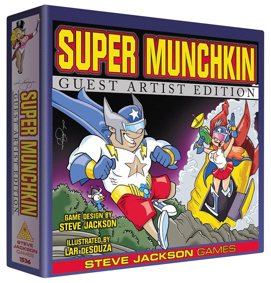 Super Munchkin: Guest Artist Edition (lar Desouza) Box Front