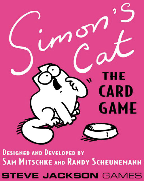 Simon`s Cat: The Card Game Box Front