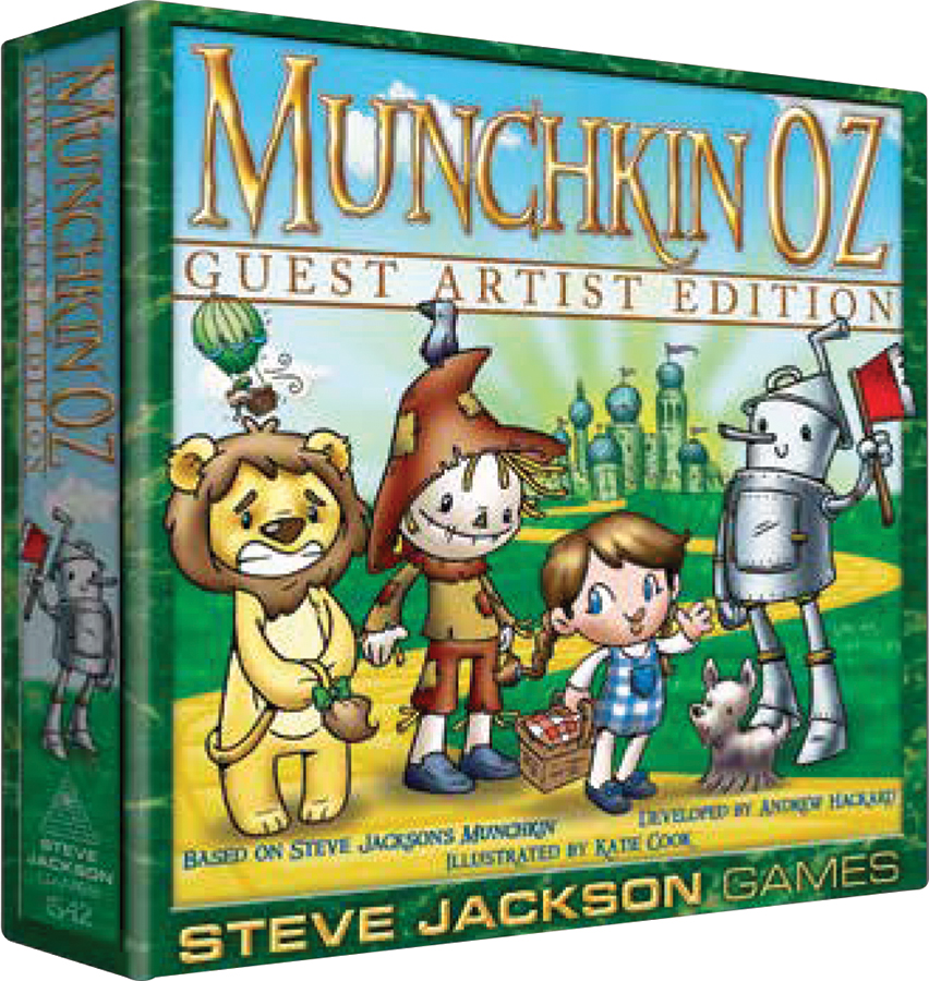 Munchkin Oz: Guest Artist Edition (katie Cook) Box Front