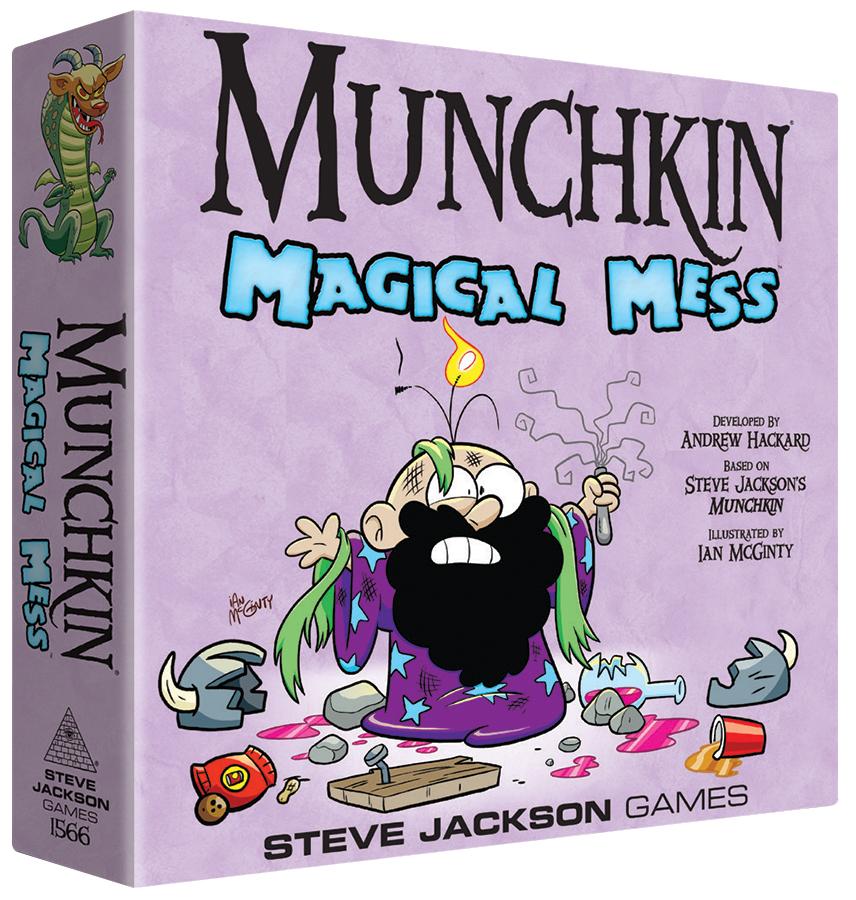 Munchkin Magical Mess Box Front