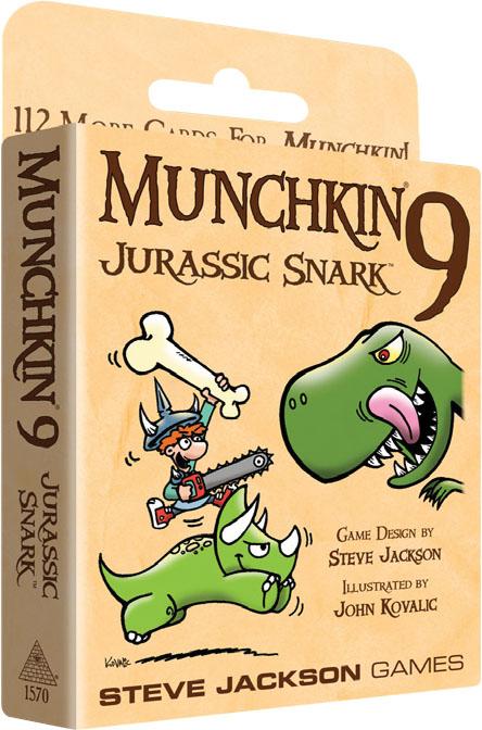 Munchkin 9: Jurassic Snark Box Front