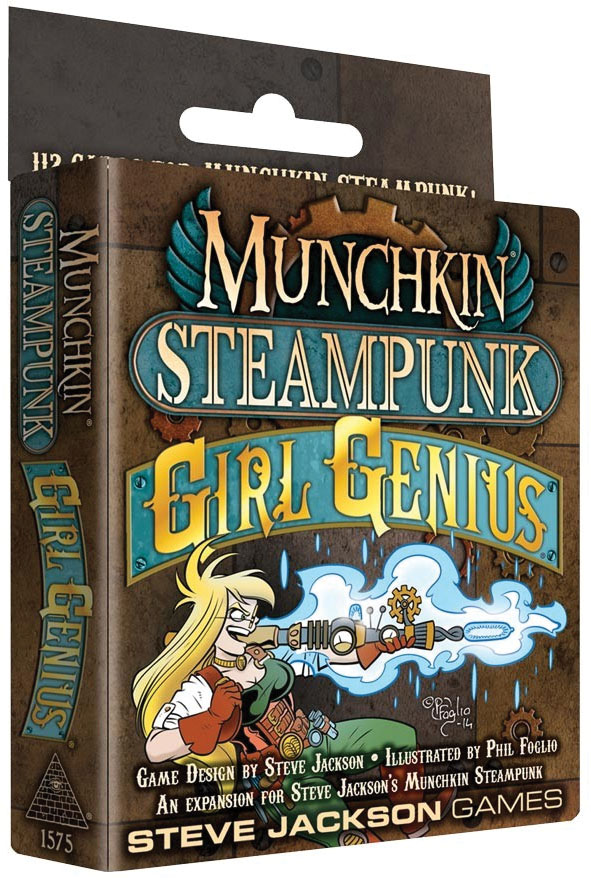Munchkin Steampunk: Girl Genius Game Box