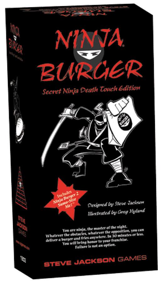 Ninja Burger Box Front