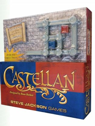 Castellan Castle Game Box Front