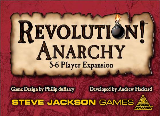 Revolution! Anarchy Expansion Box Front
