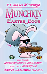Munchkin: Easter Eggs Booster Pack Display (10) Box Front