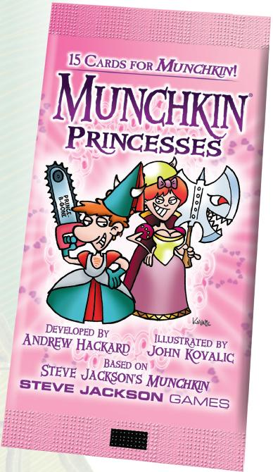 Munchkin: Princesses Blister Pack Box Front