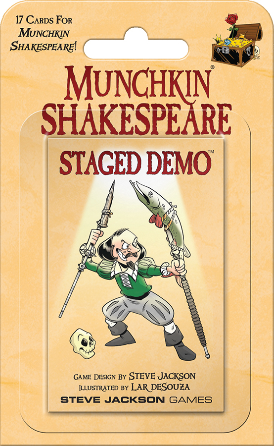Munchkin Shakespeare: Staged Demo Blister Pack Box Front
