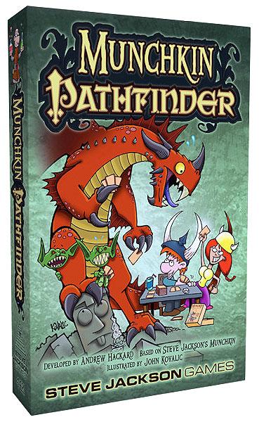 Munchkin Pathfinder Box Front