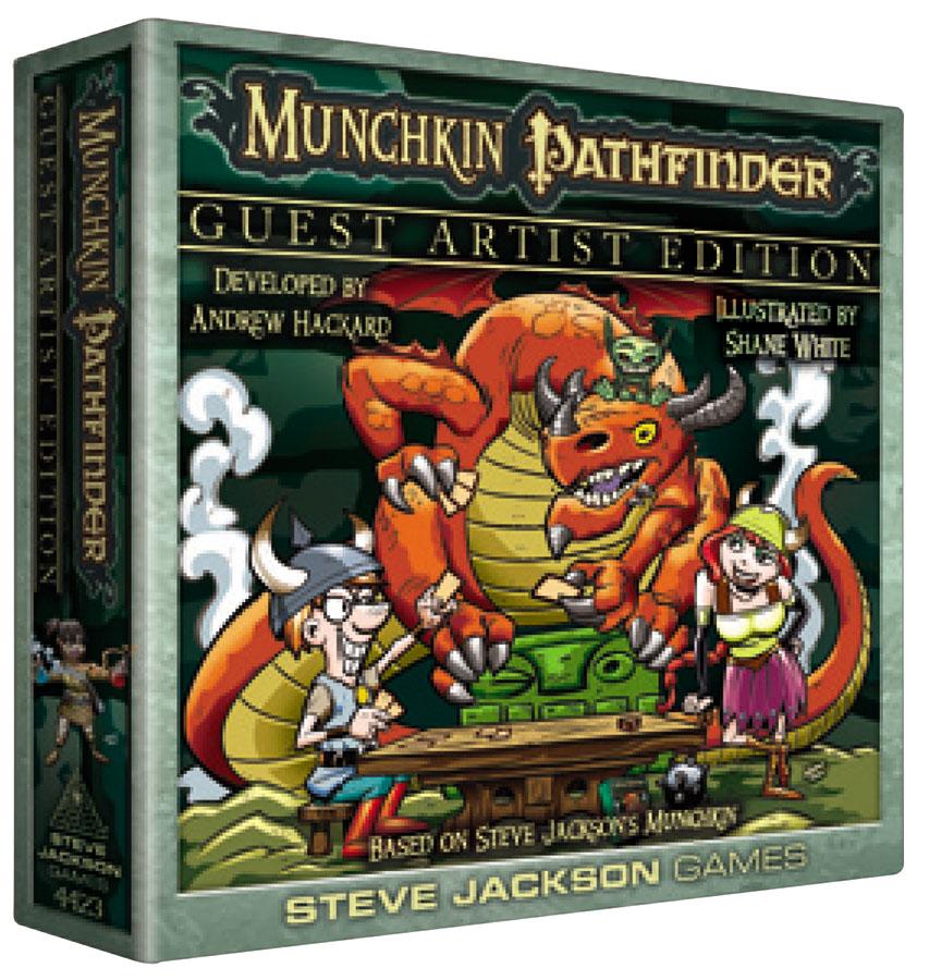 Munchkin Pathfinder: Guest Artist Edition (shane White) Box Front