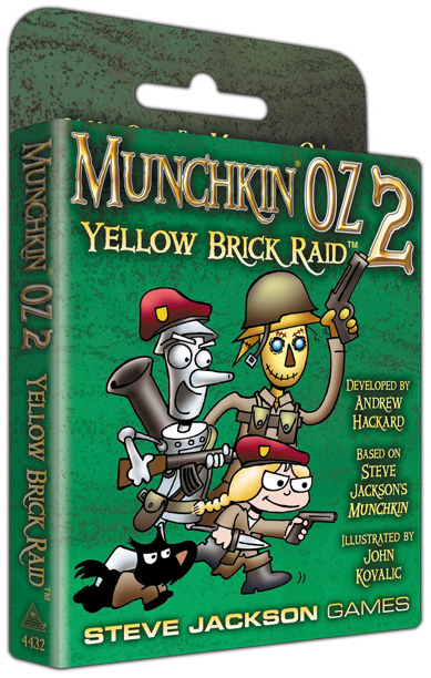 Munchkin Oz 2: Yellow Brick Raid Expansion Box Front