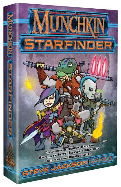 Munchkin Starfinder Game Box
