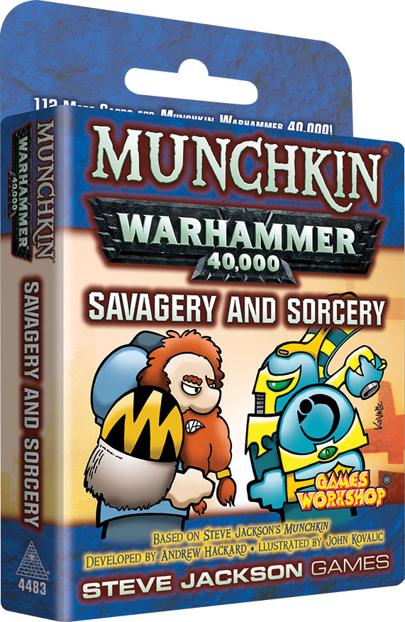 Munchkin: Warhammer 40k Savagery And Sorcery