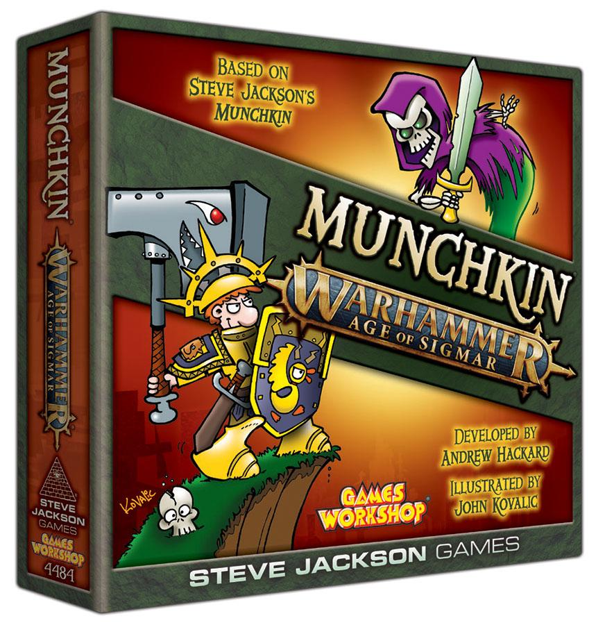 Munchkin: Warhammer Age Of Sigmar Game Box