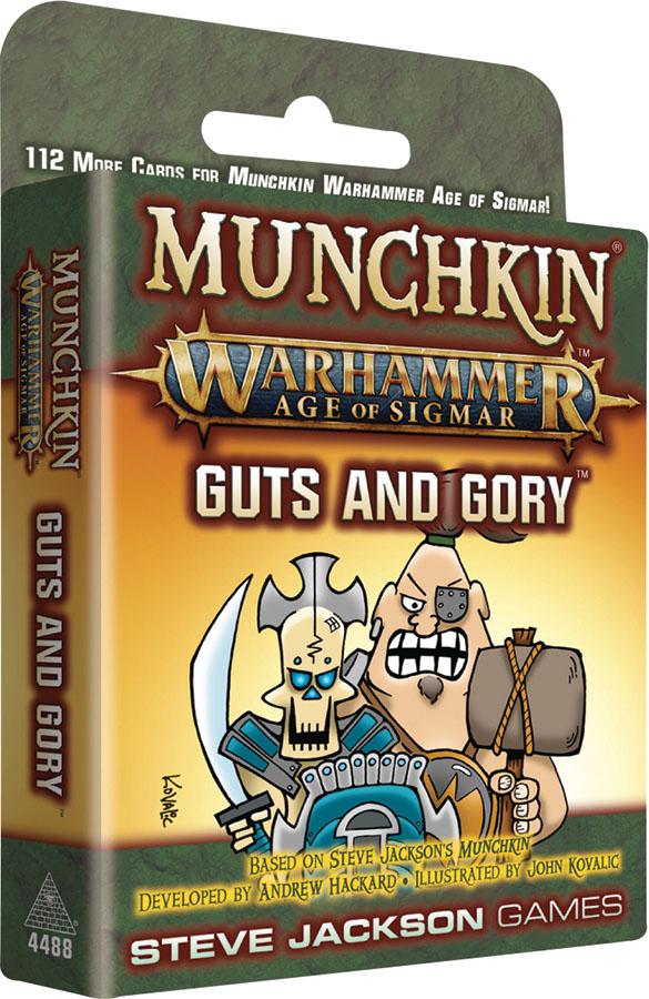 Munchkin: Munchkin Warhammer Age Of Sigmar - Guts And Gory