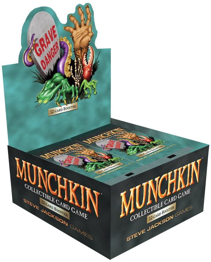 Munchkin Ccg: Grave Danger Pop Display Game Box