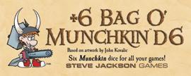 Bag O Munchkins: D6 Dice (6) Box Front