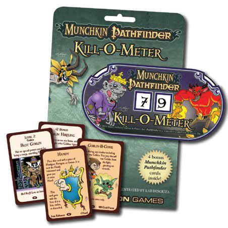 Munchkin: Pathfinder - Kill-o-meter