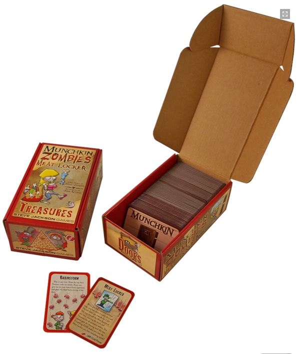 Munchkin Zombies: Meat Locker Box Front