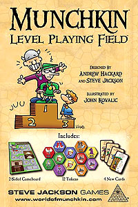Munchkin Level Playing Field Box Front