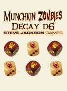Munchkin Zombies: Decay D6 Dice Box Front