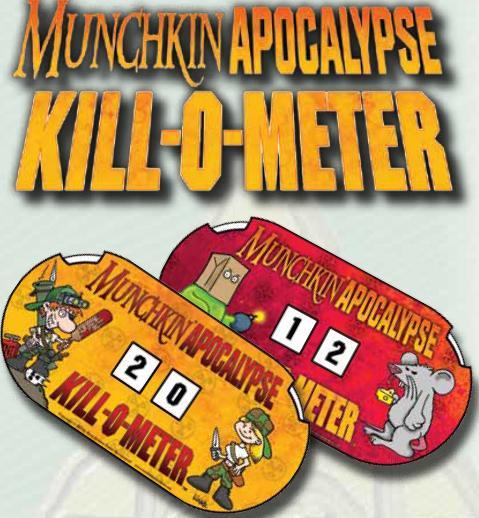 Munchkin Apocalypse: Kill-o-meter Box Front