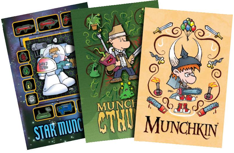Munchkin: Journal Pack 1 Box Front