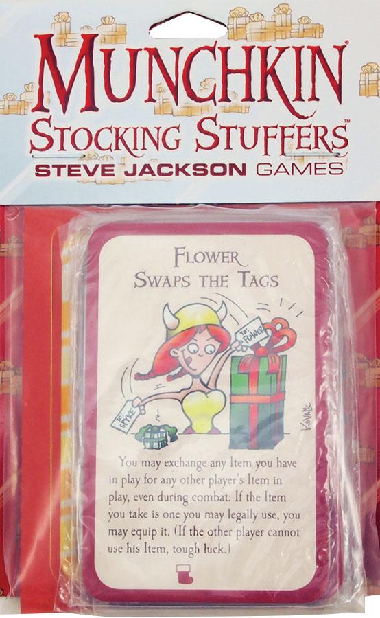 Munchkin: Stocking Stuffers (5 Cello Packs) Box Front