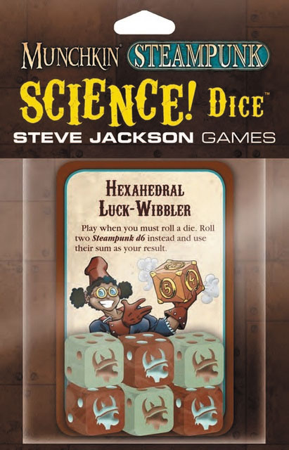 Munchkin Steampunk: Science! Dice Box Front