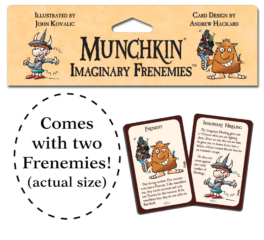 Munchkin: Imaginary Frenemies Blister Pack Box Front