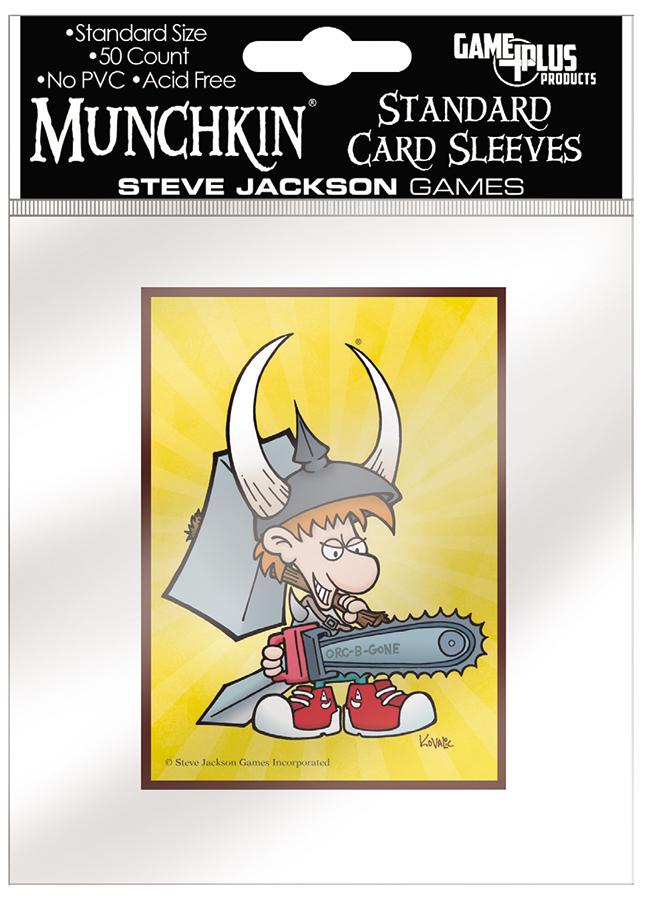 Munchkin: Standard Card Sleeves - Spyke (50) Box Front