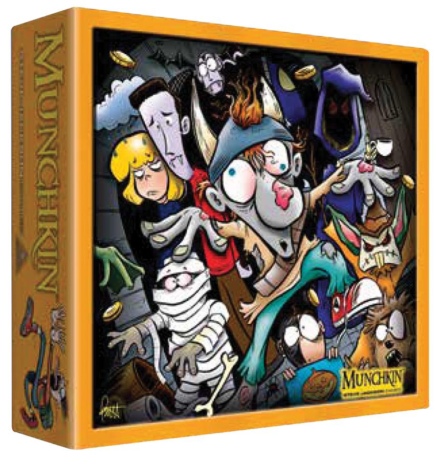 Munchkin: Halloween Monster Box Box Front