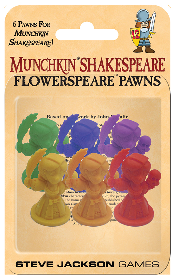 Munchkin Shakespeare: Flowerspeare Pawns Box Front