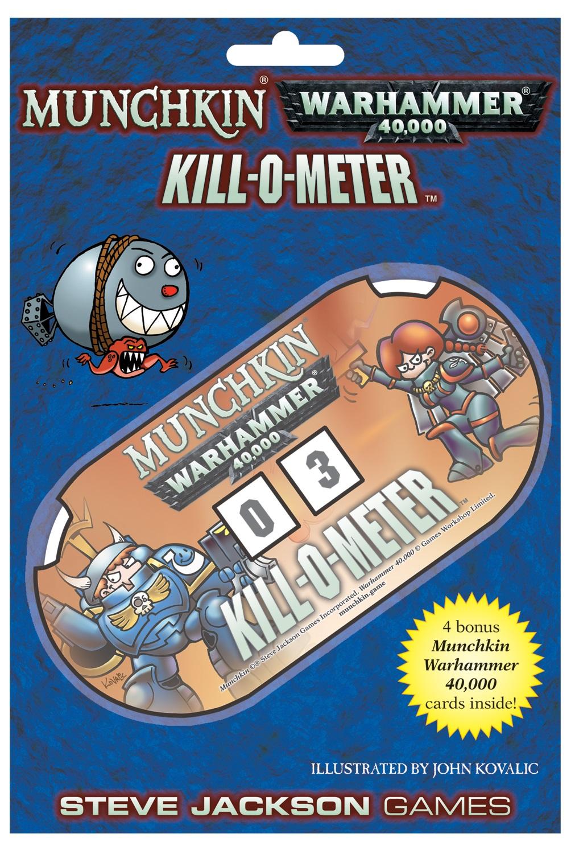 Munchkin: Warhammer 40k Kill-o-meter Game Box