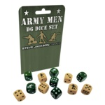 Army Men D6 Dice Set Game Box
